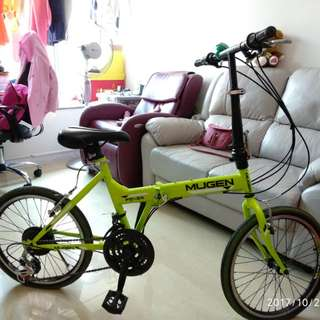 兒童摺合單車