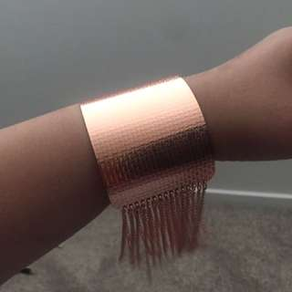 New rose gold cuff