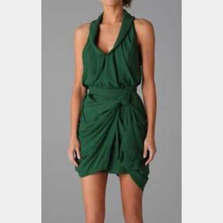 Camilla & Marc Green Dress Size 8