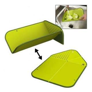 Joseph joseph rinse and chopping board