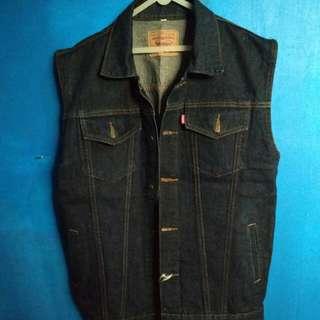 Vest jeans black