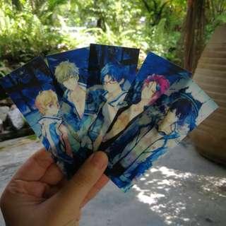 FREE! Iwatobi Swim Club Bookmarks