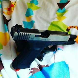 WE Glock17 series sirsoft gun gas blow back