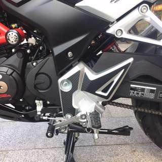 CB190R CBF190R Foot pedal protector sticker many colours