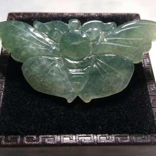 天然翡翠蝴蝶