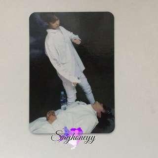Monsta Minhyuk x Hyungwon Fighter Broadcasting photocard