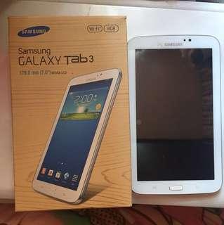 "Samsung GALAXY Tab 3 7"" WiFi 8GB"