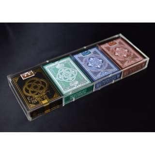 Magnet Deck Case - 4 Decks