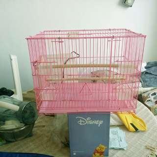 鳥籠(長45 寬 27 高35 公分)