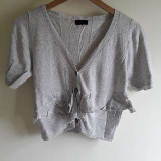 Grey Cardigan Outer