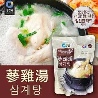【代購】韓國 大象篸雞湯 人篸糯米雞湯 超大包1kg