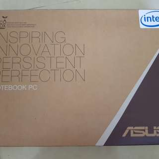 ASUS S550C slim notebook pc (core i7) touchscreen