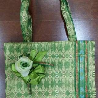 Green tradional bag