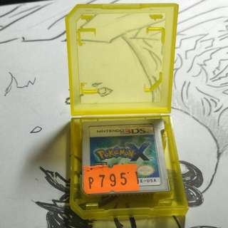 Pokemon X Cartridge Only Sf Included