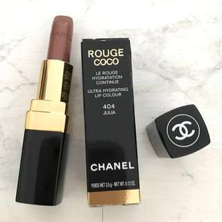 Chanel Rouge Coco Ultra hydrating lip #404 Julia