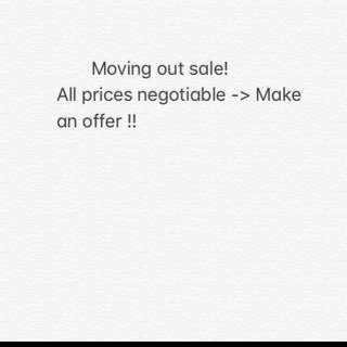 Everything negotiable!!