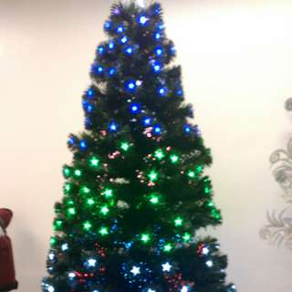 Fiber Optic X-mas Tree