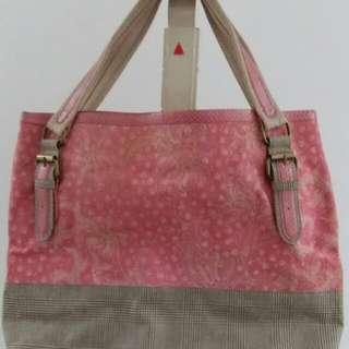 Pink envy bag