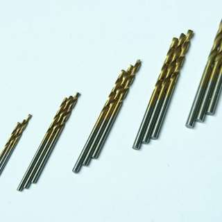 High Speed Steel with Titanium coated Drill Bit