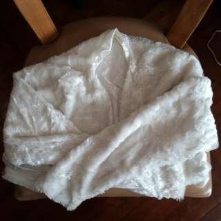 結婚 婚紗 姊妹裙 米白色 外套披肩