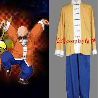 萬聖節龜仙人上衣及褲 Master Roshi Halloween cosplay outfit