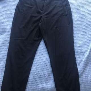 Basque black office pants sz12