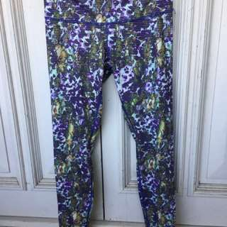 Lululemon Full Length Print Pants
