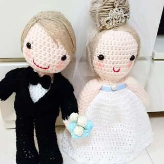 Wedding Crochet Dolls