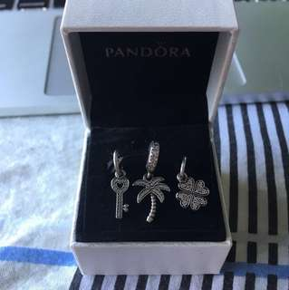 Pandora Silver Hanging Set