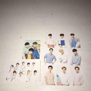 EXO, BTS, MONSTA X stickers