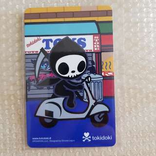 Tokidoki Ghost Scooter Ezlink Card