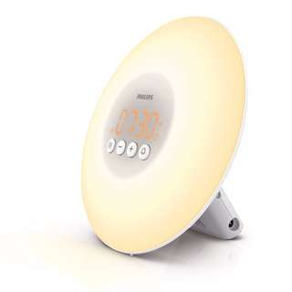 [IN-STOCK] Philips Wake-up Light with Sunrise Simulation alarm clock, White HF3500/60