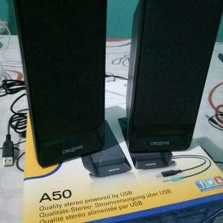 CREATIVE A50 stereo