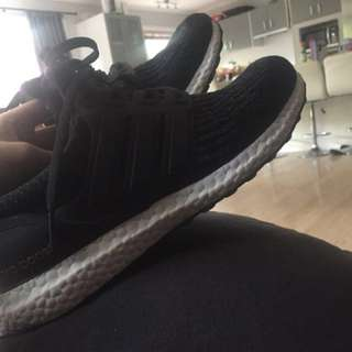 Adidas UltraBoost Core black 3.0 us 10