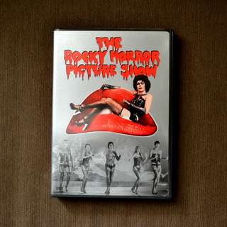 Rocky Horror Picture Show - original movie DVD with lots of bonus extras