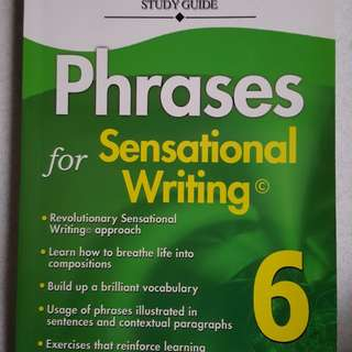 CASCO Primary 6 English Phrases for Sensational writing