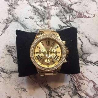 Auth Gold watch XXl