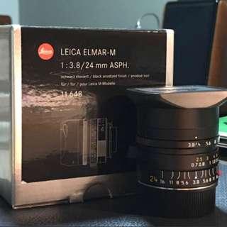 Leica 24mm f/3.8 Elmar Asph