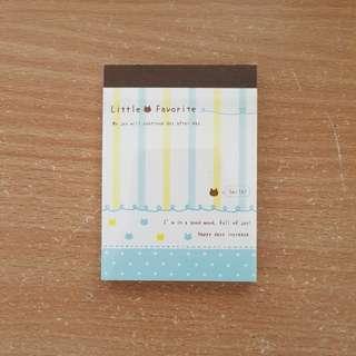 Kinokuniya Mini Notepad