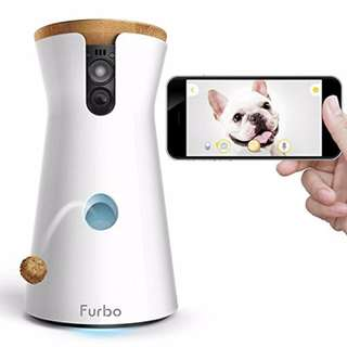 [IN-STOCK] Furbo Dog Camera: Treat Tossing, FHD Wifi Pet Cam, and 2-Way Audio, Compatible with Amazon Alexa