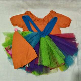 Relisted: Girl Clown Costume