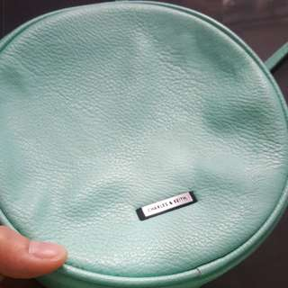 Charles & Keith sling bag with extra bag