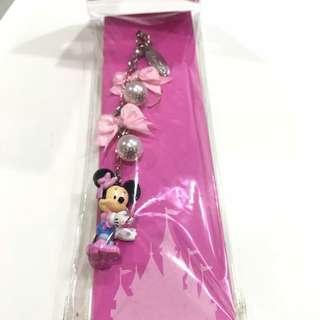 Minnie mouse souvenir gantungan ASLI disneyland HK