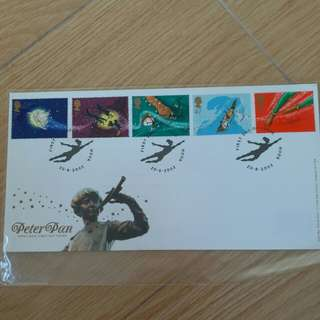 Peter pan royal mail first day cover