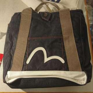 Evisu 斜揹袋 連 防塵袋