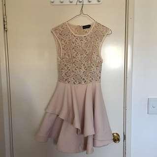 Nude/beige dress