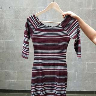 Newlook dress stripe