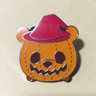 Halloween 2017 TsumTsum Pin Pooh Disney Pin 迪士尼 徽章