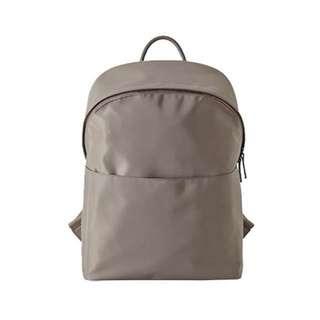 Brown Satin Backpack