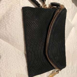 Henry bendel envelope clutch